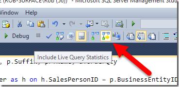 Live Query Statistics